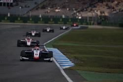 Antonio Fuoco, Trident leads Charles Leclerc, ART Grand Prix
