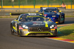 #85 HTP Motorsport, Mercedes-AMG GT3: Luciano Bacheta, Indy Dontje, Clemens Schmid