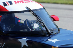 Detail of #0 Panoz DeltaWing Racing DWC13: Katherine Legge, Sean Rayhall