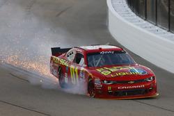 Problemi per Ryan Preece, JD Motorsports Chevrolet