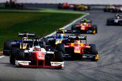 Oliver Rowland, MP Motorsport devance Norman Nato, Racing Engineering et Nicholas Latifi, DAMS