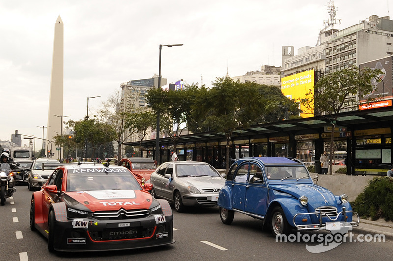 Dimostrazione Citroën in Buenos Aires