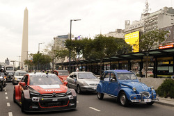Citroën demonstration in Buenos Aires