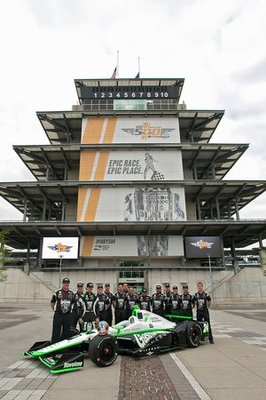 Presentation for the car of Conor Daly, Dale Coyne Racing Honda