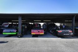 Dakoda Armstrong, JGL Racing Toyota, Dylan Lupton, JGL Racing Toyota, J.J. Yeley, TriStar Motorsport
