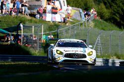 #1 Black Falcon, Mercedes-AMG GT3: Maro Engel, Adam Christodoulou, Yelmer Buurman, Manuel Metzger, T