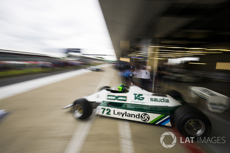 Carlos Reutemann'ın Williams FW07B'si