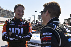 Christopher Bell, Kyle Busch Motorsports Toyota and Noah Gragson, Kyle Busch Motorsports Toyota