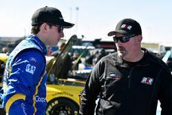 Chase Briscoe, Brad Keselowski Racing Ford e Mike Hillman Jr