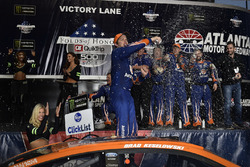 Brad Keselowski, Team Penske Ford in Victory Lane