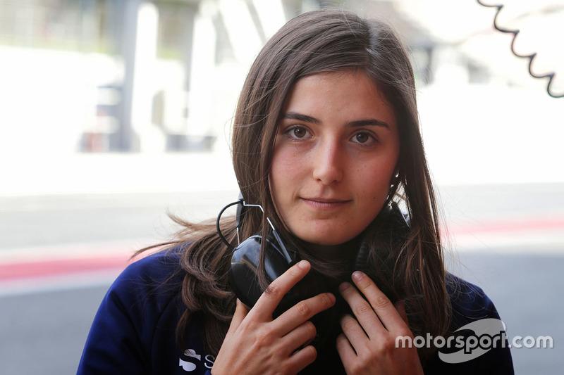 GP3. Самая возрастная: Татьяна Кальдерон, DAMS (24 года)