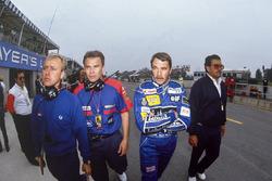 Nigel Mansell, Williams FW14 Renault, Peter Windsor