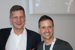 Pascal Freudenreich, Carbon Conncet CEO, und Tom Lüthi,