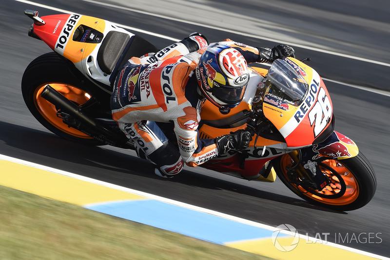 Dani Pedrosa, por sua vez, não conseguiu repetir o desempenho de Jerez e ficou no Q1, largando apenas em 13º.