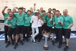 Ganador, Lewis Hamilton, Mercedes AMG F7