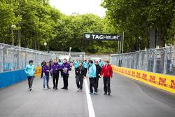 Nelson Piquet Jr., NEXTEV TCR Formula E Team. & Sam Bird, DS Virgin Racing
