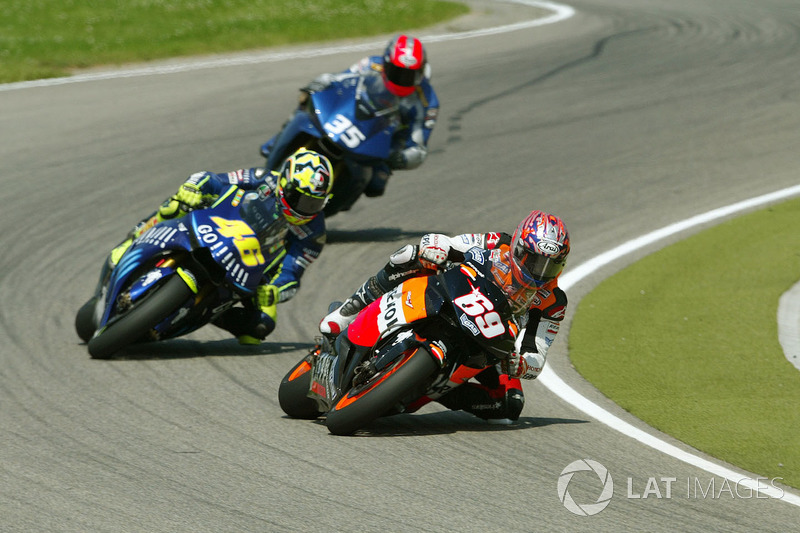 2004: Sophomore season in MotoGP