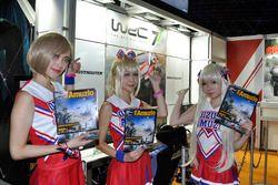 東京ゲームショウ2017 WRC7ブース