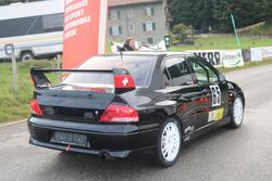 Joe Halter, Mitsubishi Lancer Evo VII, Racing Club Airbag, Start Essais
