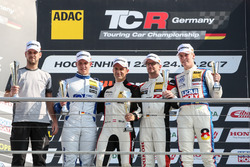 Podium: 1. Harald Proczyk, HP Racing, Opel Astra TCR, 2. Mike Halder, Wolf-Power Racing, Seat Leon T