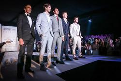 Marc Gene, Ferrari, Antonio Giovinazzi, Sean Gelael, Sergey Sirotkin, Renault Sport F1 Team Test Dri