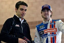 Ryan Blaney, Wood Brothers Racing Ford and Travis Geisler