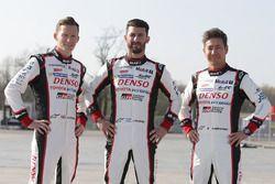 Mike Conway, Jose Maria Lopez, Kamui Kobayashi, Toyota Racing