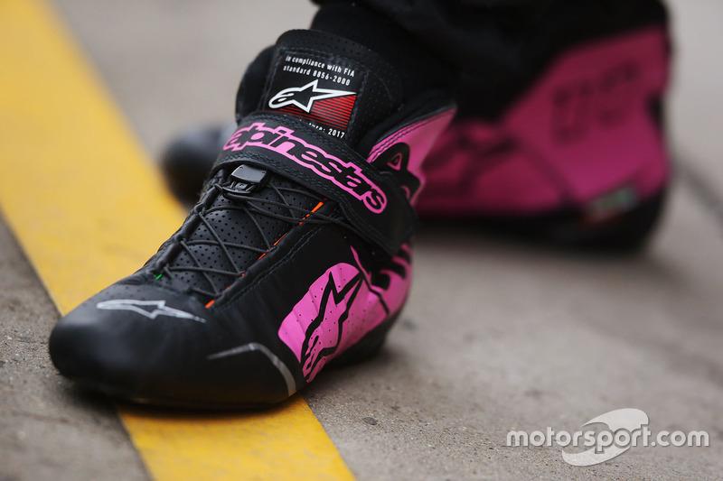 Взуття Серхіо Переса, Force India