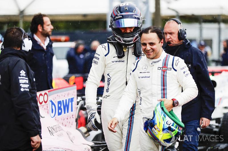 """Massa e Stroll tiveram seu primeiro duelo """"para valer"""" no GP da Itália. Claire Williams, vice-diretora da equipe, admitiu que a disputa foi """"assustadora"""" vista dos boxes."""