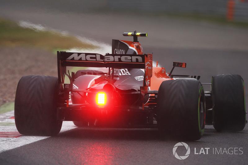 18: Stoffel Vandoorne, McLaren MCL32 (termasuk penalti 25 grid)