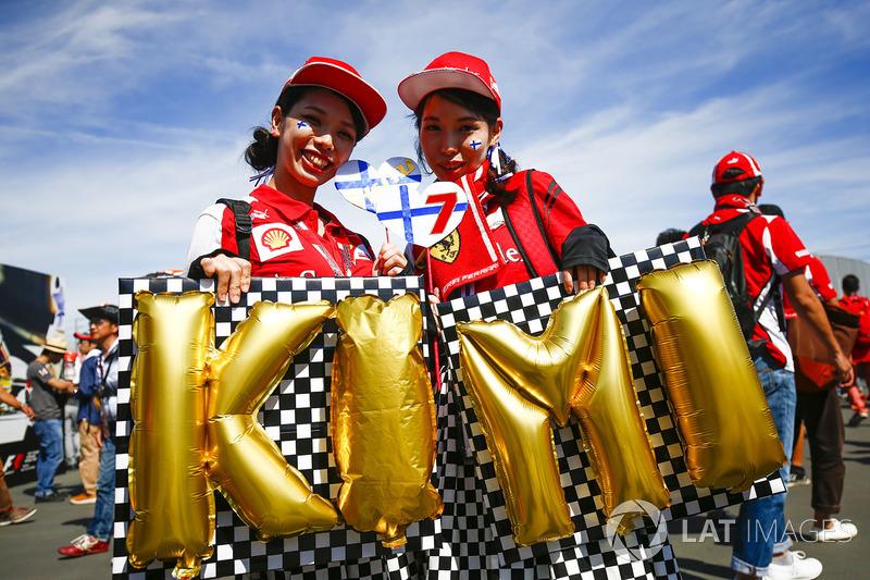 Kimi Raikkonen, Ferrari taraftarları