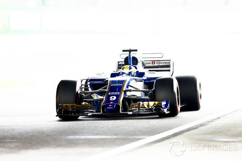 Retired: Marcus Ericsson (Sauber)