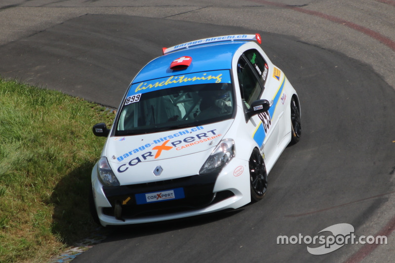 Thierry Eggertswyler, Renault Clio RS III, Racing Club Airbag,