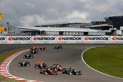 Max Defourny, Van Amersfoort Racing Dallara F317 - Mercedes-Benz, David Beckmann, Motopark, Dallara