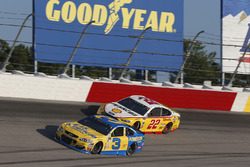 Austin Dillon, Richard Childress Racing Chevrolet, Joey Logano, Team Penske Ford