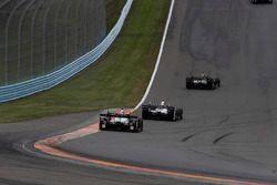 Graham Rahal, Rahal Letterman Lanigan Racing Honda, Helio Castroneves, Team Penske Chevrolet, J.R. H