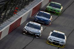Chris Buescher, JTG Daugherty Racing Chevrolet, Corey LaJoie, BK Racing Toyota