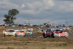 Guillermo Ortelli, JP Carrera Chevrolet, Juan Marcos Angelini, UR Racing Dodge, Jonatan Castellano,