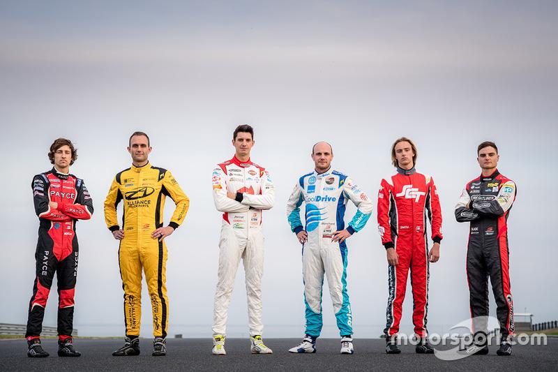 Tim Slade, Brad Jones Racing Holden, Nick Percat, Brad Jones Racing Holden, Tim Blanchard, Brad Jones Racing Holden