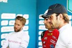 Ник Хайдфельд, Mahindra Racing, Лукас ди Грасси, ABT Schaeffler Audi Sport, и Жан-Эрик Вернь, Techee