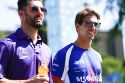 Jose Maria Lopez, DS Virgin Racing, and Antonio Felix da Costa, Amlin Andretti Formula E Team