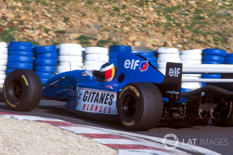 Michael Schumacher, Ligier JS39B Renault V10 motor testi