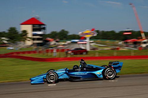 IndyCar 2018 Mid-Ohio testing