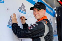 Polesitter Ryan Preece, Joe Gibbs Racing Toyota