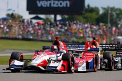 Marco Andretti, Andretti Autosport with Yarrow Honda, James Hinchcliffe, Schmidt Peterson Motorsports Honda