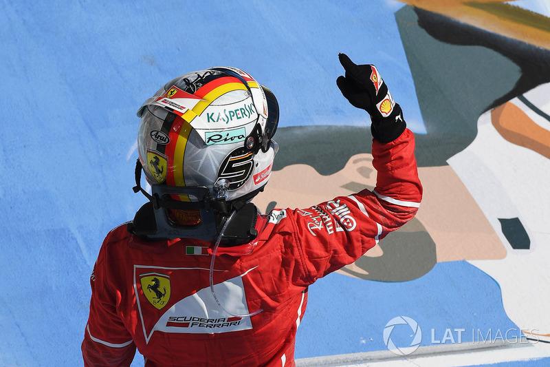 8: Sebastian Vettel