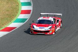 Ferrari 488-S.GT3 #27 Scuderia Bladini 27: Malucelli-Cheever