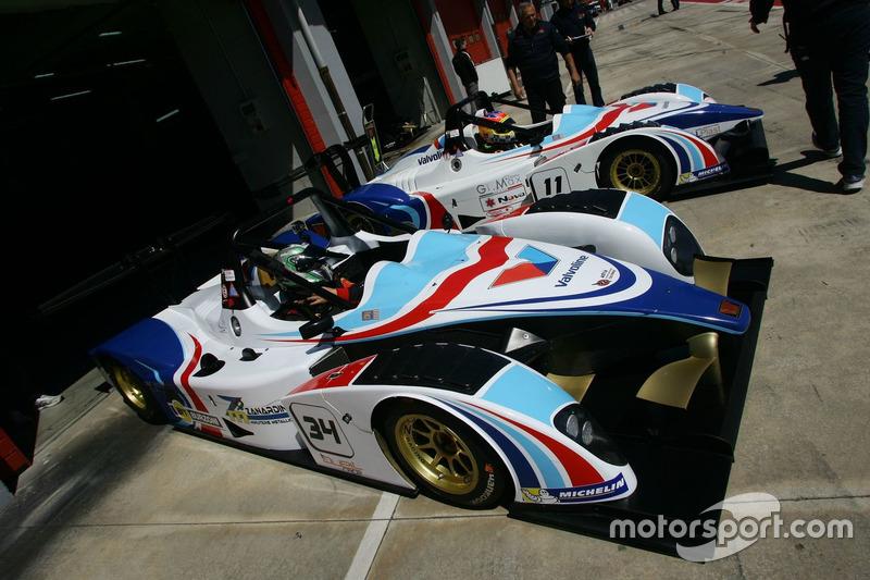 Mirko Zanardini, Wolf GB 08 Peugeot-CNT e Massimiliano Milli, Wolf GB 08 Evo-CNA2