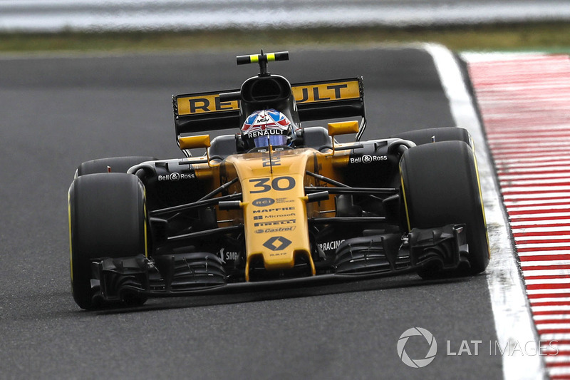 18. Jolyon Palmer, Renault Sport F1 Team RS17 (penalti 20 grid)