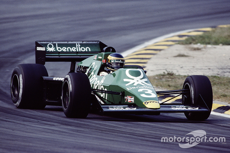 Benetton: From Tyrrell to Alfa to Toleman